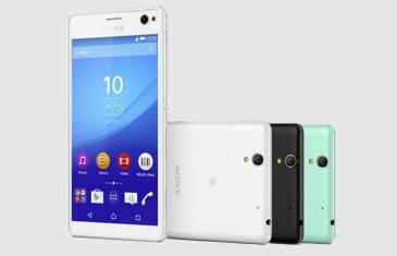 Sony Xperia C4, el nuevo gama media con Mediatek de Sony