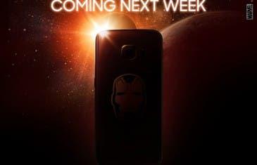 El Galaxy S6 Edge Iron Man Edition ya está aquí ¡En vídeo!