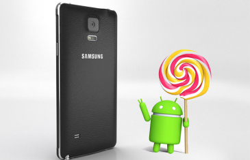 Samsung Galaxy Note 4 recibe Lollipop en España