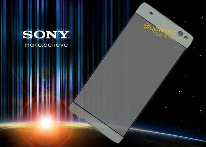 Se filtran renders del Sony Lavender, el teléfono sin biseles de Sony