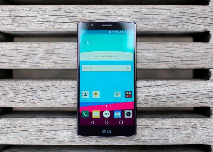 LG G4 test de resistencia