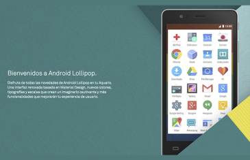 bq lanza Android 5.0 Lollipop para el Aquaris E5 y E4.5