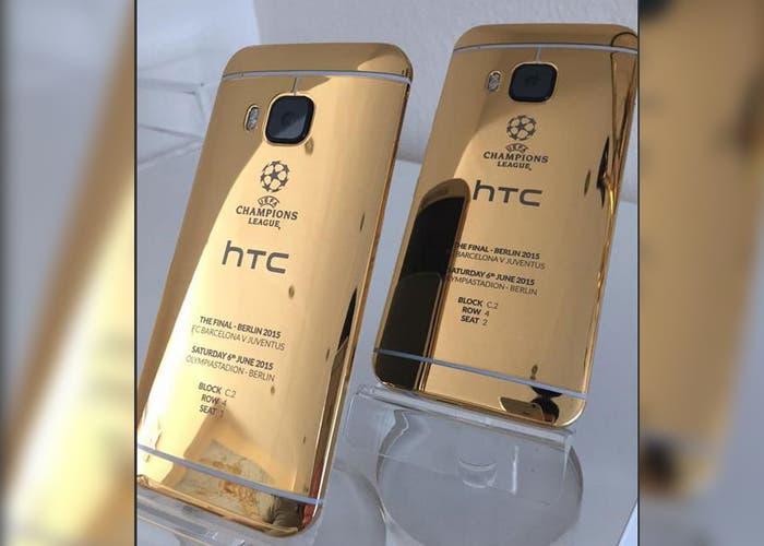 HTC usa un iPhone 6 para promocionar su HTC One M9