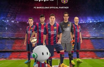 Se confirma el acuerdo de OPPO con el F.C. Barcelona