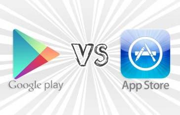 Así quedan Google Play y App Store en el Q2