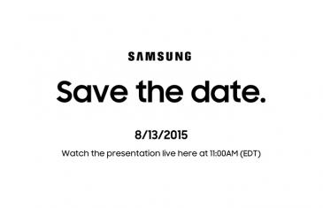Samsung confirma evento 'Unpacked' para el 13 de agosto