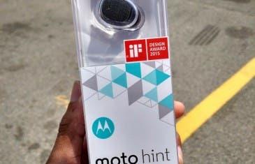 Motorola lanza el Moto Hint 2 sin anunciarlo