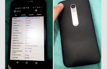 Filtrado en video el Moto G 2015 versión Snapdragon 410