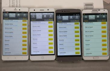 Elephone P7000 vs P8000 vs Galaxy Note 3 vs Xiaomi Mi Note