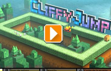 Cliffy Jump, juega saltando con una temática isométrica