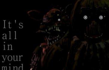 ¿Te gustan los juegos de miedo? Prueba Five Nights at Freddy's