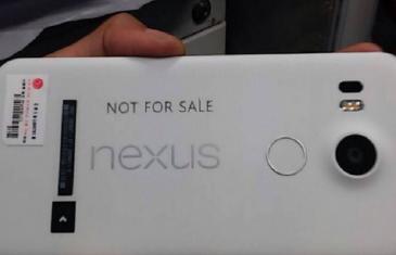 Nueva imagen del Nexus 5 (2015) de LG confirma el diseño
