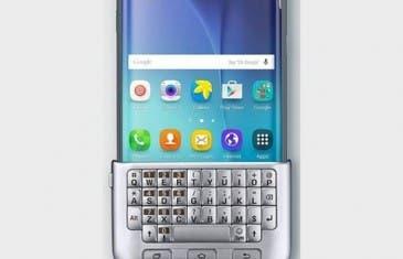 Hoy sale a la venta el teclado físico del Galaxy  S6 Plus