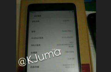 Nueva imagen del Xiaomi Redmi Note 2 y precios revelados