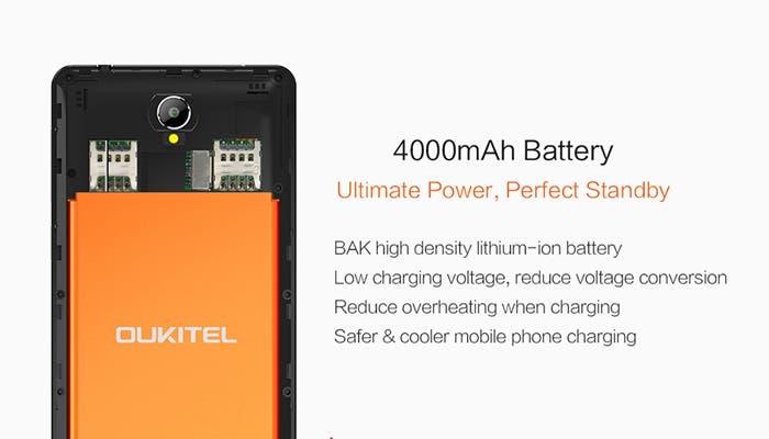 OUKITEL K4000, un quadcore con Android 5.1 a un precio ridículo