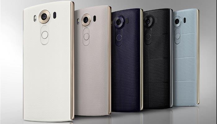 LG V10 es oficial con doble cámara frontal y pantalla secundaria