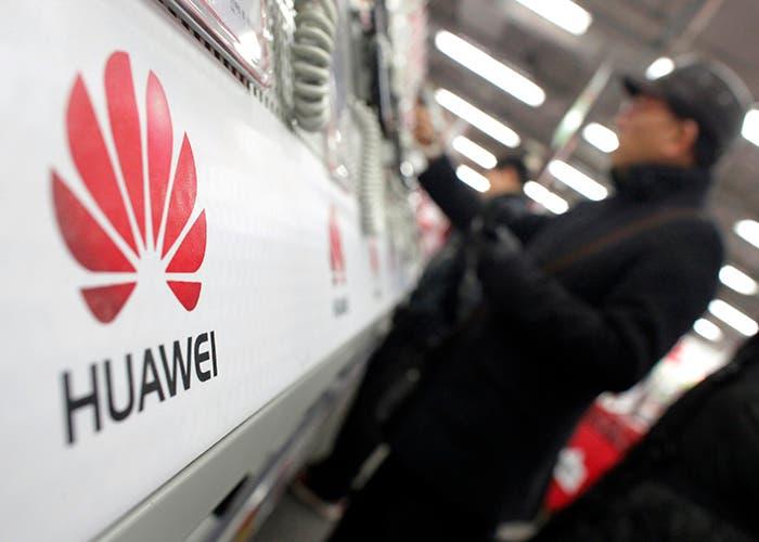 Logo-de-Huawei-en-una-tienda-china