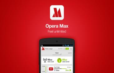 Opera Max ahora ayuda a ahorrar datos mientras escuchas música