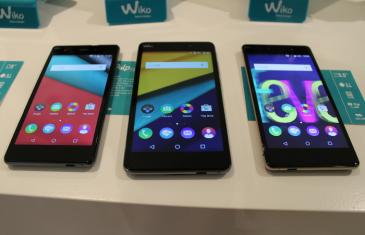 Toma de contacto con la nueva gama de Wiko