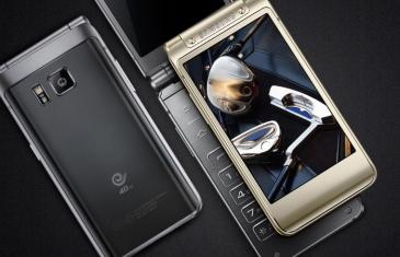 Samsung W2016, un smartphone tipo concha de gama alta