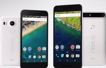 Los Nexus 5X y Nexus 6P tienen problemas en la pantalla