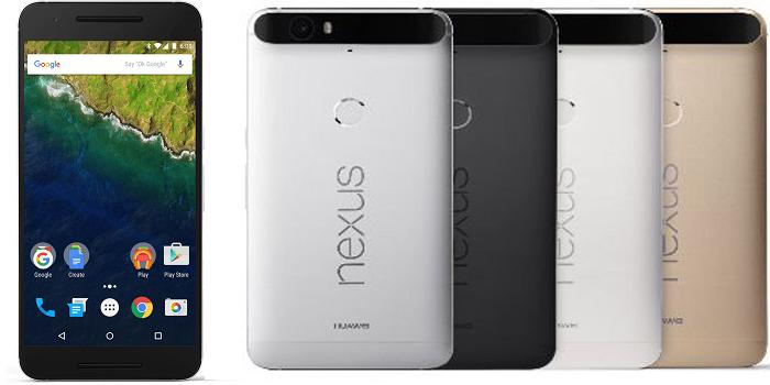 Nexus 6p frontalcolores
