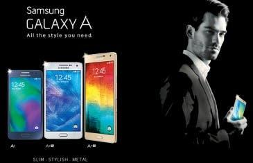 Se hace oficial una nueva familia Samsung Galaxy A