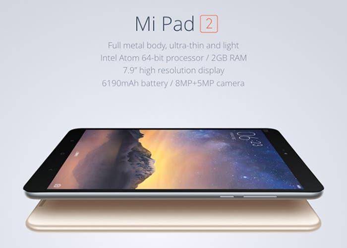 Xiaomi MiPad 2 ya en preventa y a precio de derribo