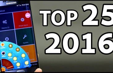 [VÍDEO] Las 25 MEJORES APLICACIONES ANDROID 2016 – IMPRESCINDIBLES