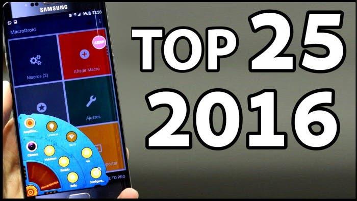 25 mejores aplicaciones