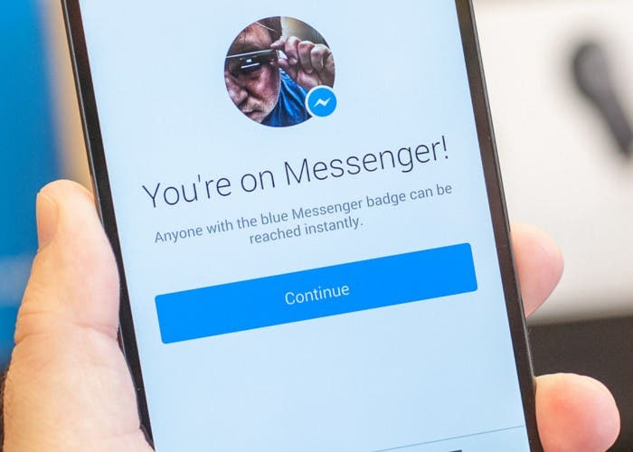 Facebook-Messenger-Material Design