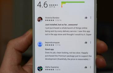 Google Play Store incluye mejoras en los comentarios en su versión Android