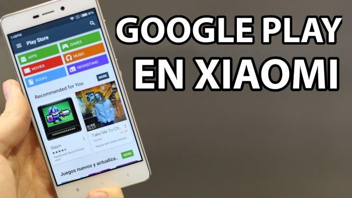 Instalar Google Play en moviles Xiaomi