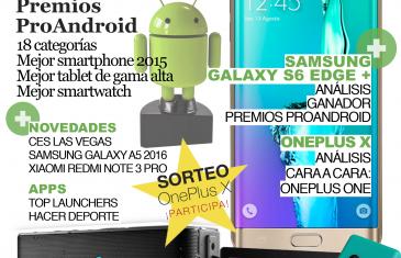 Cuarto número de La Revista de Pro Android – Enero 2016