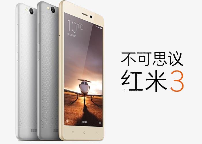 Xiaomi Redmi 3 anunciado oficialmente y con un precio de escándalo