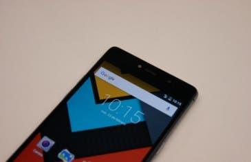 Energy Phone Pro 4G, toma de contacto