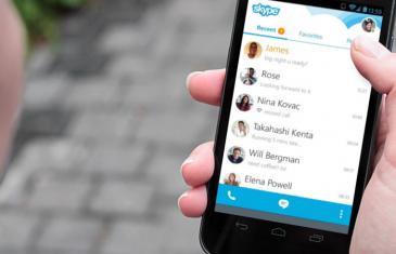 Llegan las videollamadas en grupo de Skype a Android