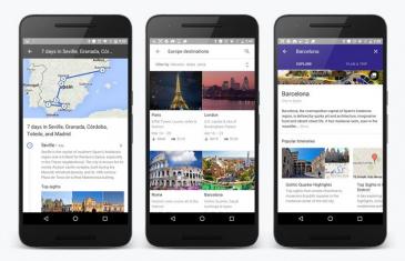 Google Destinations: planea un viaje con todos los detalles