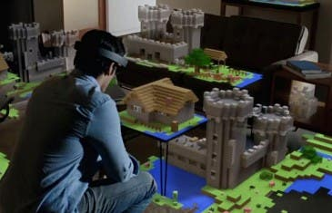 Minecraft ahora se podrá jugar en las Gear VR de Samsung