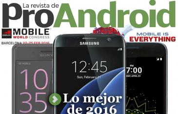 Número de marzo de La Revista de Pro Android – Nº5