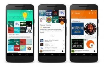 Los podcasts empiezan a llegar a Google Play Music