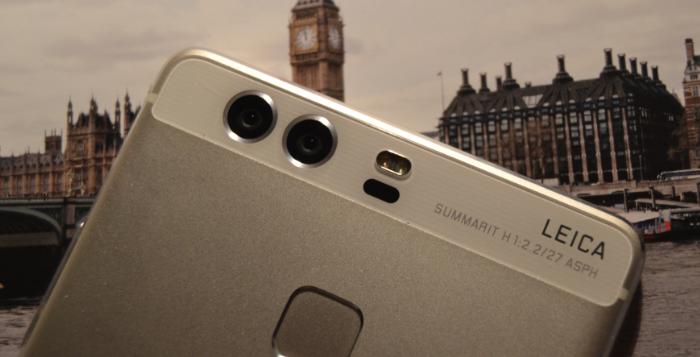 Huawei P9 camaras