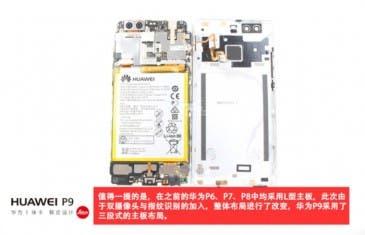Así es el interior del Huawei P9