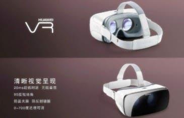 Estas son las nuevas Huawei VR