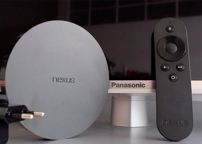 Google-Nexus-Player-mando-cargador