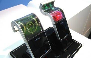 Este es el concepto de móvil flexible para Samsung según sus patentes