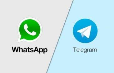 WhatsApp vs Telegram, una constante batalla de actualizaciones