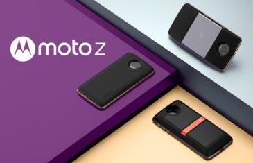 Un proyector, un altavoz y una batería: estos son los nuevos MotoMods