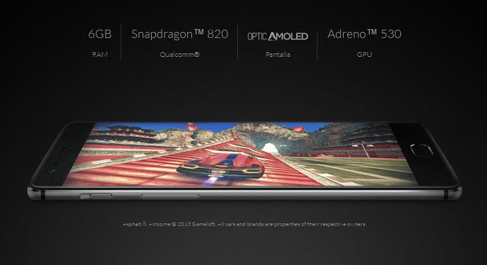 OnePlus 3 segunda