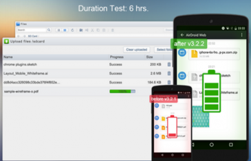 AirDroid añade la opción de grabar nuestra pantalla y mejora su eficiencia